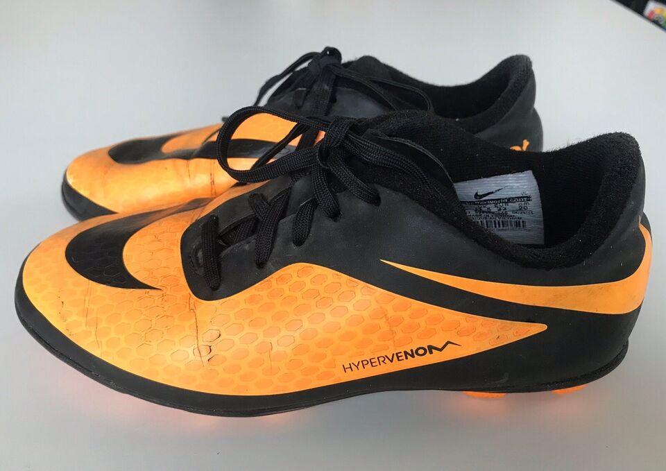 Fodboldstøvler, HYPERVENOM, Nike – dba.dk – Køb og Salg af