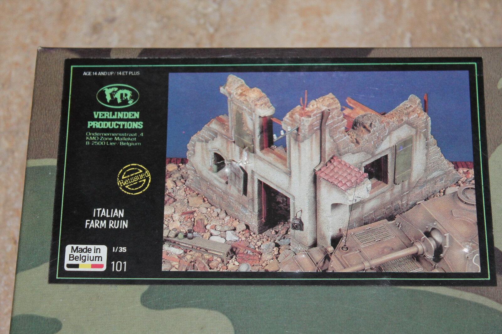 Verlinden 101 Italian Farm Ruin Ruin Ruin Ruine 1 35 NEU OVP Keramik Diorama WW2  | Online-Shop  ac835d