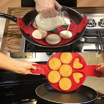 Best Sale Perfect Non Stick Pancake Maker Pan Flipjack Omelette Flip Eggs Crepes