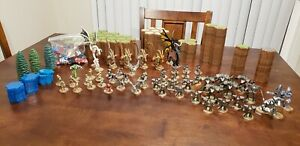 Massive-Heroscape-figures-lot-50-Figures-Cards-land-hex-Dice-water-NOTREES