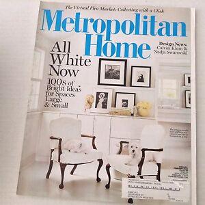 Metropolitan Home Magazine Cape Cod In Connecticut Jan ...