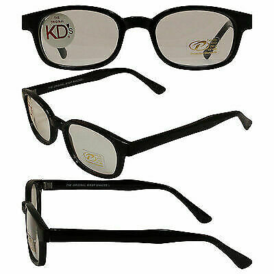 Original KD/'s Readerz 2.25 Magnification Clear Bifocal Lens 29225 Free Pouch