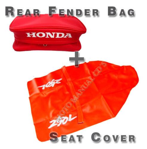 For HONDAXR250L KIT SEAT COVER /& Rear Fender Bags XR 250L XR 250 Free Shipping