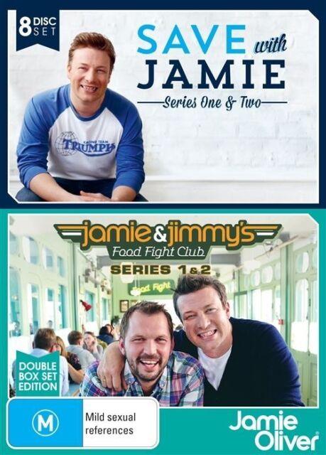 Jamie Oliver (DVD, 2015, 8-Disc Set) Good