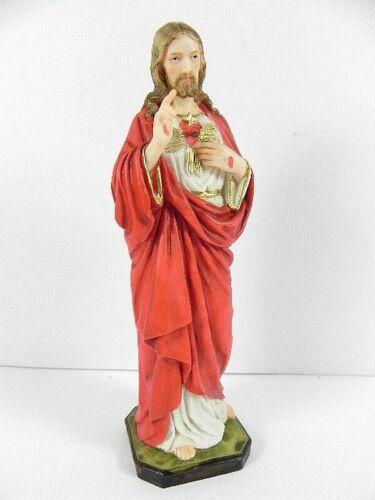 Jesus Nazareth Herz Cuore 16,5 cm Statue Figur,sehr hochwertig !!!
