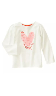 NWT Gymboree Snowflake Glamour Hippo T Shirt Top Toddler Girls long Sleeve