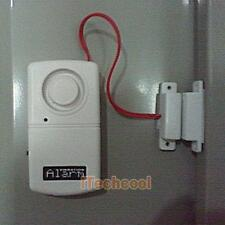 Home Door Window Entry Safety Security Burglar Alarm Bell System Magnetic Sensor