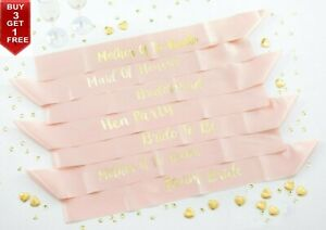 ROSE-GOLD-HEN-PARTY-SASH-SASHES-GIRLS-DO-NIGHT-OUT-ACCESSORIES-WEDDING-BRIDE
