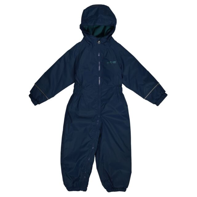 78b7d8253b0b Regatta Kids Splosh III Plain Breathable Waterproof Puddle Suit 48 ...