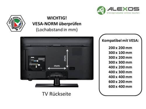 TV Fernseher Deckenhalterung A54 Halter für SONY 49 Zoll KD-49XE7096BAEP Drehbar
