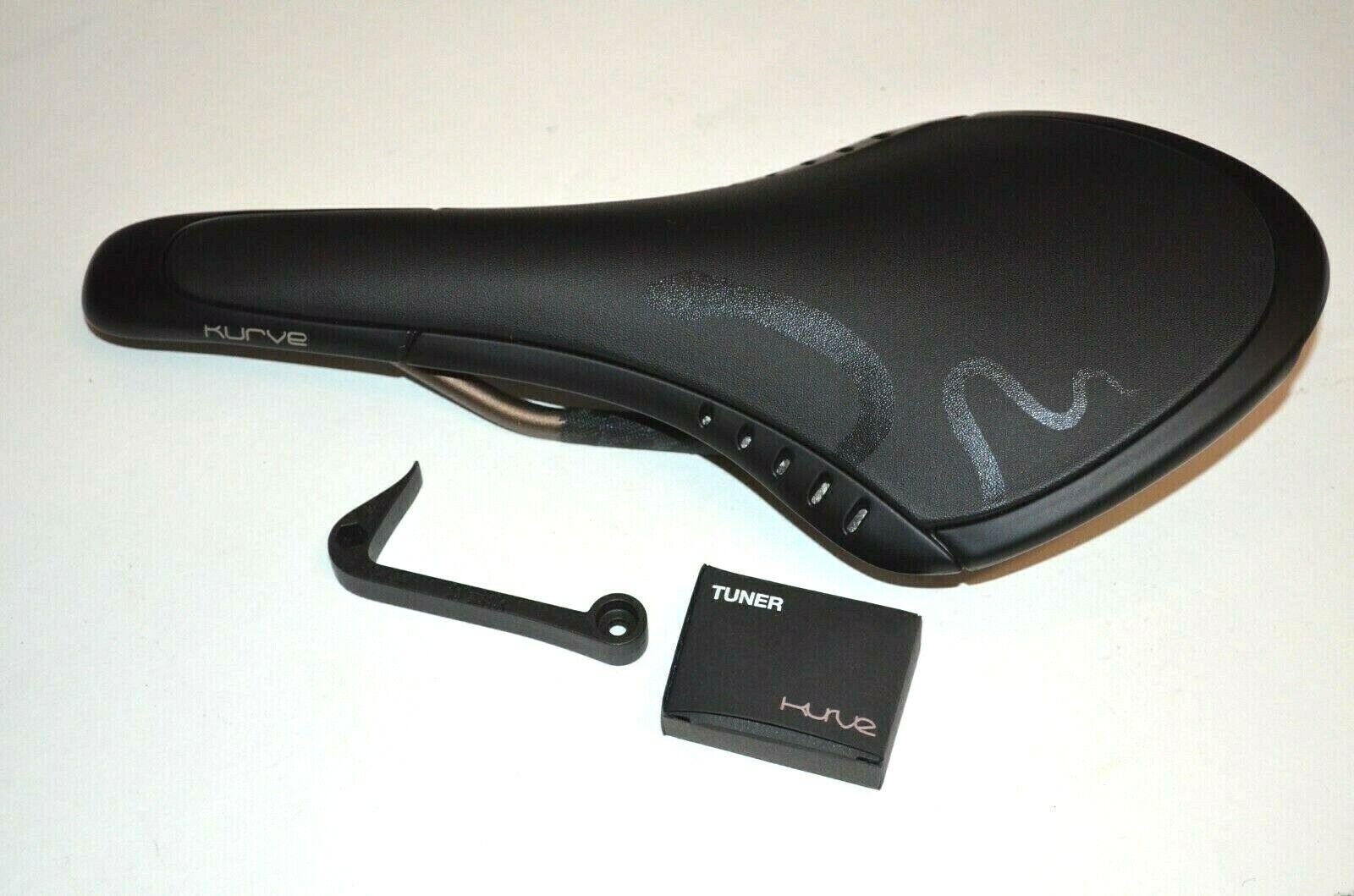 New Fizik Kurve Snake saddle carbon shell Mobius rails 7x9 Black