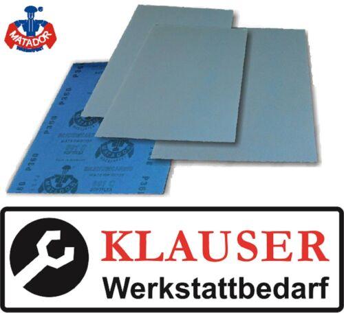 50 x matador en húmedo//papel de lija impermeable p2000-libre-casa