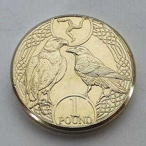 2018-Isle-of-Man-Falcon-amp-Raven-1-coin-Uncirculated