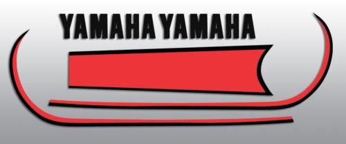 1979 gt80f Gt80 Yamaha Tanque De Combustível apenas decalques