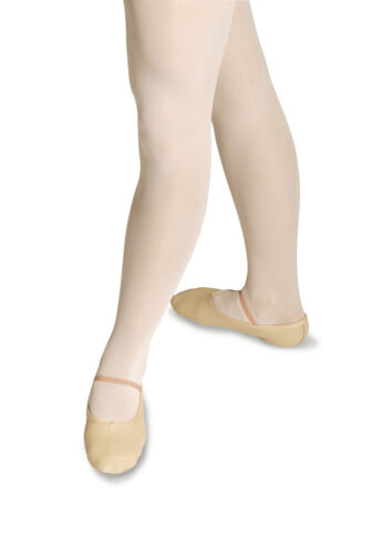 ROCH VALLEY Pink Leather Ballet Shoes /& Elastics All Sizes Adult 1,2,3,4,5,6,7,8