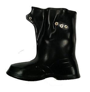 Adjustable Rubber Overshoe Boots | eBay