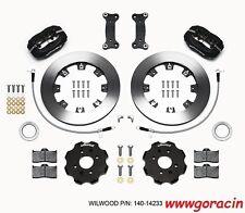 Wilwood Forged Dynalite Front Big Brake Kit,Black,Fits 2016-2017 Mazda Miata,MX5