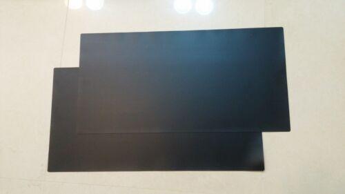 """5.5/""""x12/"""" BLACK magnet bumper sticker Sign 30 mil MACHINE CUT . 2 SHEET"""