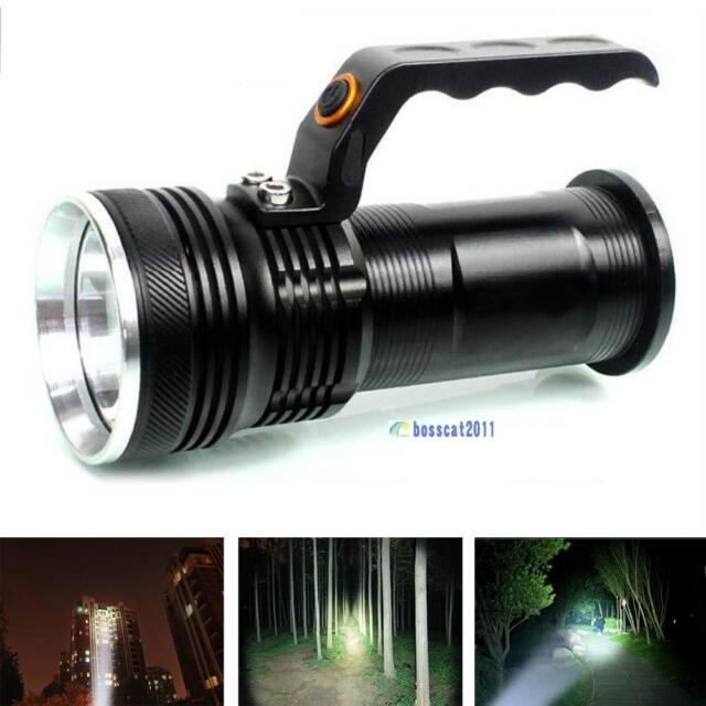 3-mode 2000LM Handheld CREE XM-L Rechargeable LED 18650 Flashlight Torch Lamp BS