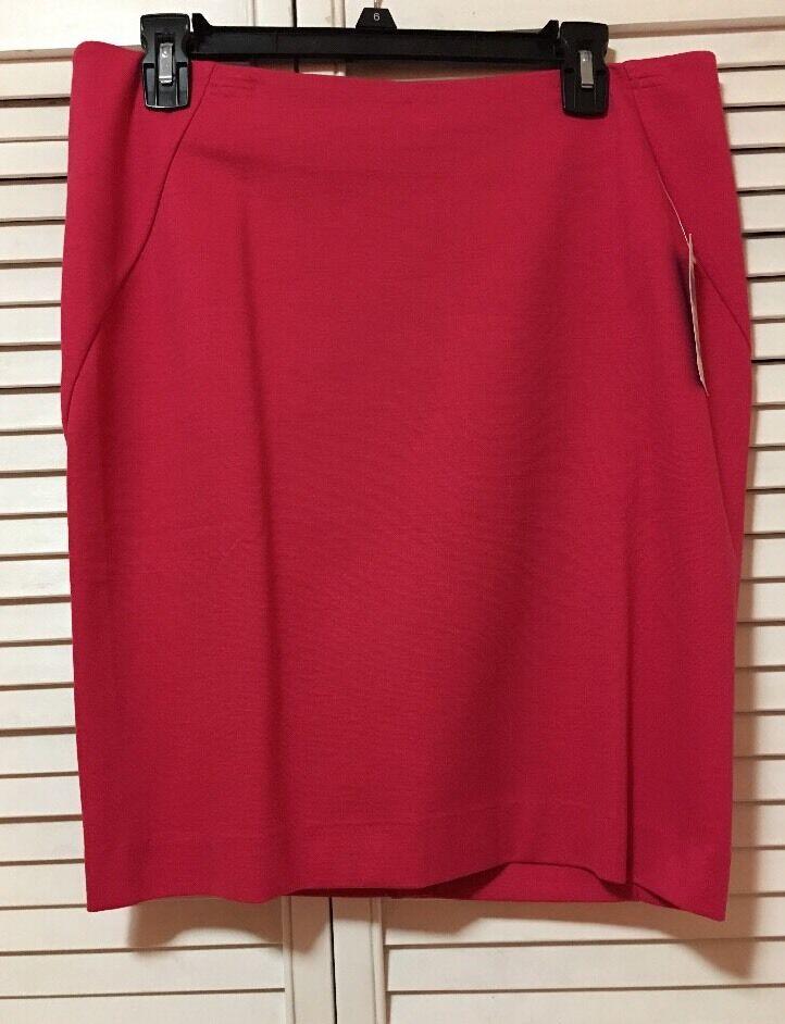 NEW  INC International Concepts Pencil Skirt Pink Size 10