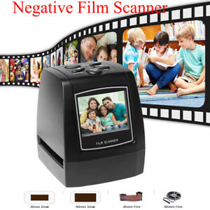 Film Negative Scanner Image Viewer Convert 35mm 135 Films Slide to Digital JPEG