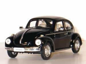 VW Volkswagen Käfer / Beetle - black - WELLY 1:24