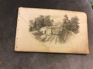 Great-Western-Railway-Through-Sydney-Gardens-Bath-c-1850-Book-Print