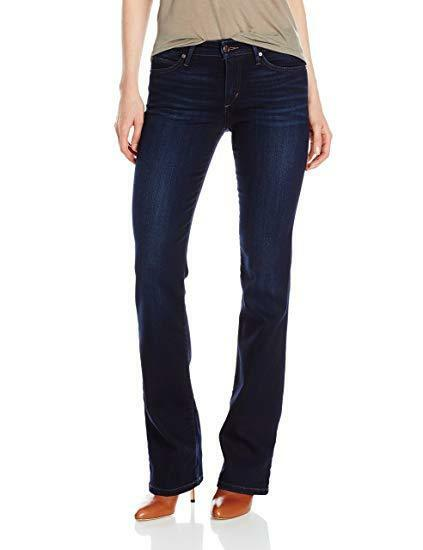 NWT Joe's Flawless Honey Curvey Slim Boot Cut Jean in Lexi, Dark - Size 24 x 33