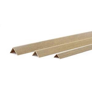 1m-PVC-CHENE-CORNIERE-90-degres-baguette-d-039-angle-coin-10mm-40mm