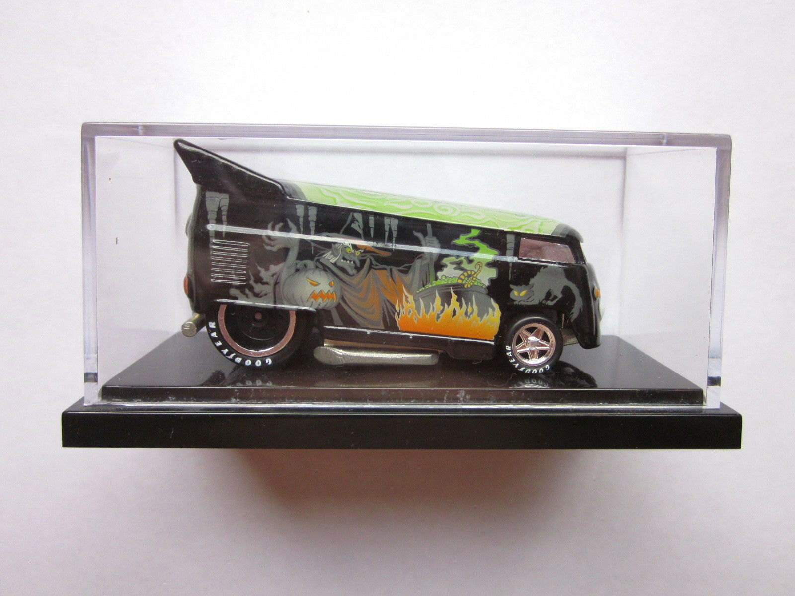 Hot Wheels Liberty promociones - 2005 Halloween Bruja Vw Drag Bus 30 1300 Bajo