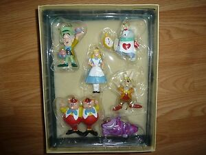 Disney Alice in Wonderland Christmas Ornament Collection Set  eBay