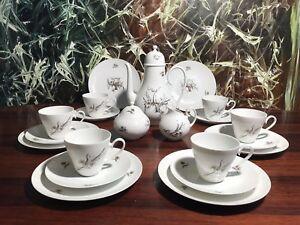 Rosenthal-Romance-en-Moll-Noble-21-Pieces-Service-a-Cafe-pour-6-Personnes