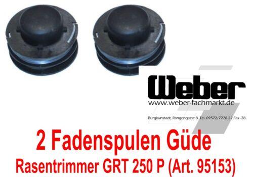 2 Ersatz Fadenspulen Güde 95141 Trimmer Rasentrimmer GRT 250 P 95153 950212726