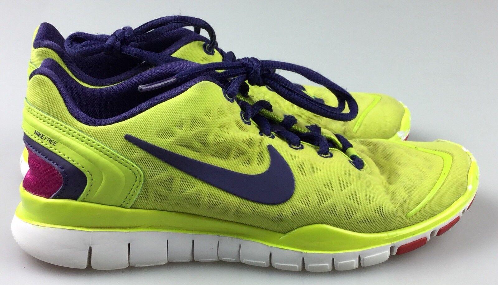 Women's Sz 6 Nike Free 487789-302 Fit 2 Volt Yellow 487789-302 Free 245d63