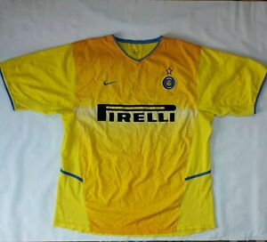 detailing 39d06 c318d Details about Vintage Rare Inter Milan Nike Jersey Size XL