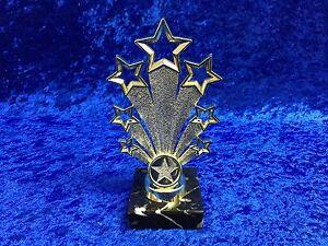 Gold-Star-of-the-Week-Fanfare-Award-Trophy-School-Club-Dance-Drama-FREE-engravin
