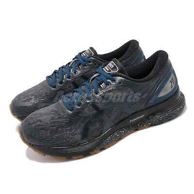 Asics Gel Nimbus 21 Winterized Grey Black Navy Men Running Shoes 1011A633 020 | eBay
