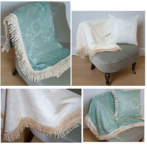 Image Is Loading Lana Fire Ant Sofa Throws Cream Or Green