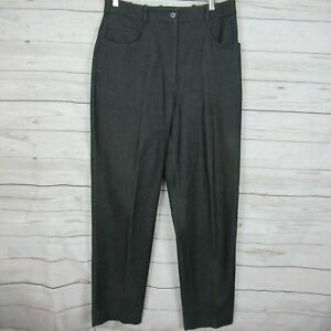Tilley-Endurables-10-Pants-Womens-Gray-Tencel-Slacks-Trousers-Canada