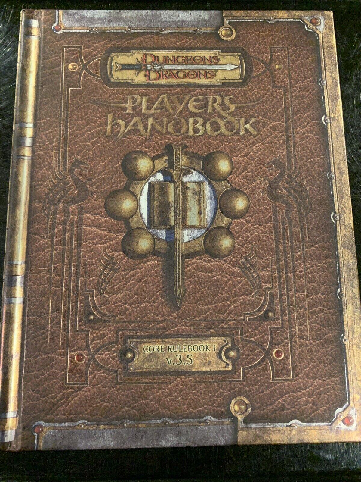 D&D  Player's Handbook - Core Rulebook 1 V3.5 Premium