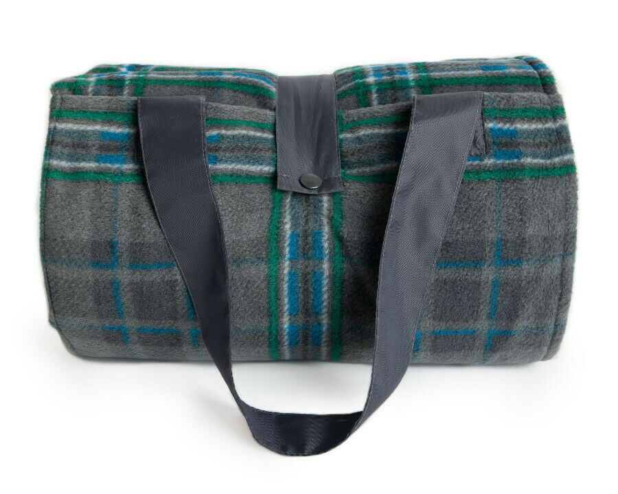 Giants Causeway Tartan Eventer Waterproof Rug - Medium-Camping -Picknicks