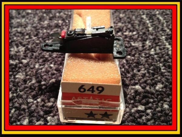 2019 Nieuwe Stijl New Astatic 649 Phonograph Turntable Cartridge With Needle/stylus Crown Nc-253 Een Verrijkt En Voedingsstof Voor De Lever En De Nieren