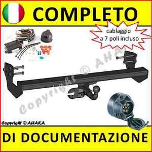 Gancio-di-traino-Mercedes-Benz-Vito-II-Viano-W639-2003-fisso-centralina-7-poli