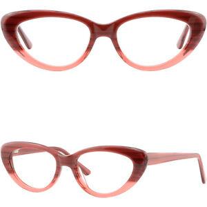 edda542ee2f Women s Cateye Plastic Frames Spring Hinges Prescription Glasses ...