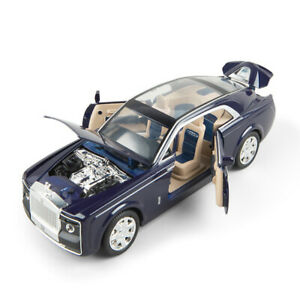 Rolls-Royce-Sweptail-1-24-Diecast-Model-Car-Toy-Collection-Light-amp-Sound-Pullback