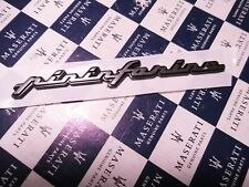 MASERATI  Schriftzug    Emblem    -  Pininfarina  NEU Original Badge Script