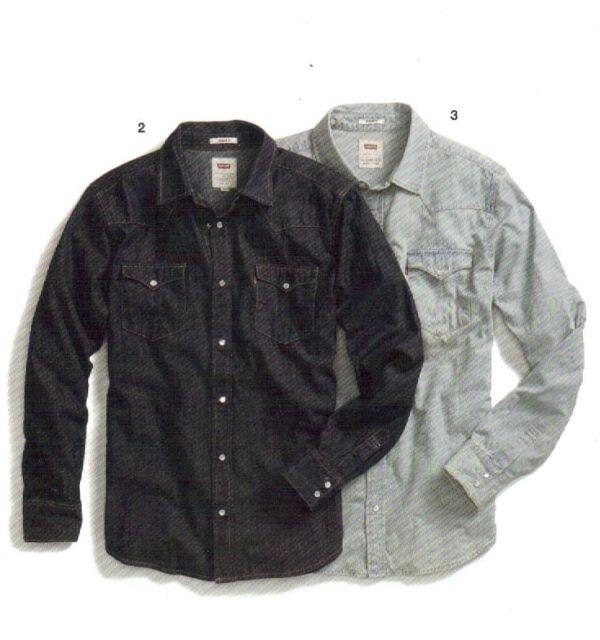 Levi's Barstow Western Denim Snap Shirt