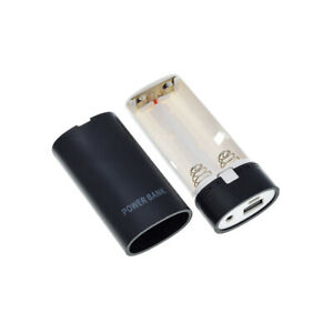 1Pcs Brand New 2X 18650 USB Power Bank Battery Charger Case for phone power bank