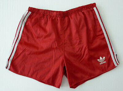 ADIDAS Glanz Nylon Shorts Sporthose D8 L Sampdoria Laufhose Retro Vintage rot | eBay