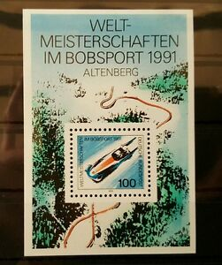 Allemagne-Federal-Rfa-Vintage-1991-Bloc-23-Neuf-MNH-Plus-Sh-Boutique